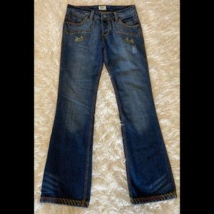 Antik Embroidered Jeans 27